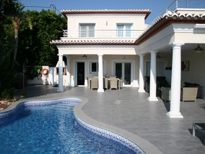 Photo for Luxurious holiday villa with private pool, for those looking for privacy. Moraira.