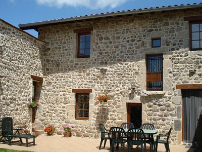 Photo for Renovated farmhouse in the heart of a small rural village