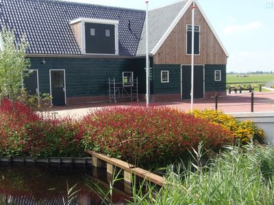 Photo for Vintage Holiday Home in Beemster with Windmill