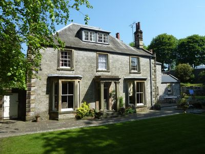 Photo for The Old Vicarage Bed and Breakfast in attractive Peak District village