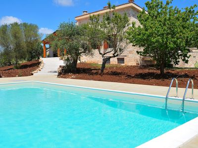 Photo for Modern Trulli With Air Con, Games Room and Pizza Oven Tranquil Location