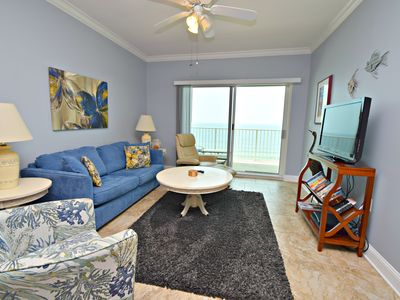 Photo for Walk on the beach & enjoy this captivating Gulf Front Condo!