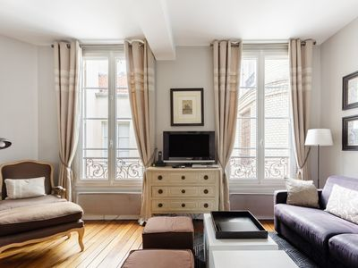 Photo for 100% legal Marais 2BR/2BA with AC, up to 6 guests
