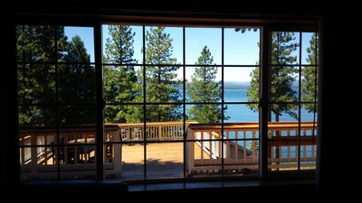 Iconic Lake House with Panoramic Water Views & Semi-Private Beach