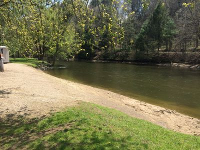 Up Stream View of Mohican River