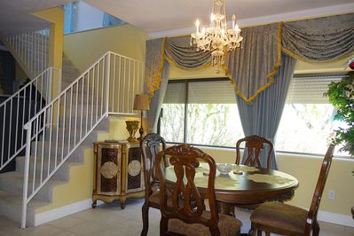 dining room on a first floor