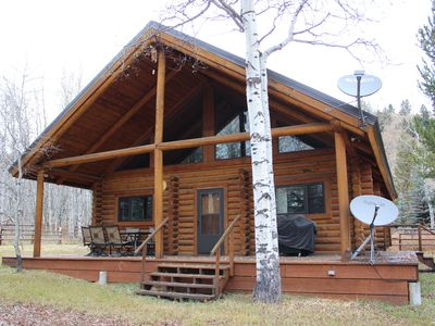 Photo for 2/2 Cabin with Loft Nestled next to National Forest
