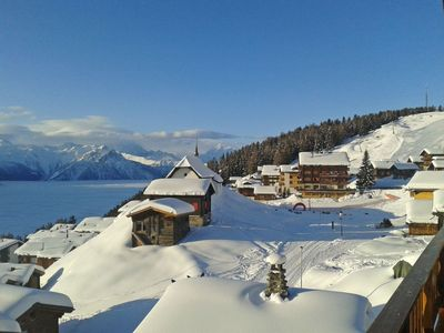 Photo for Apartment in the center of Bettmeralp with Internet, Balcony (46477)