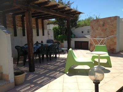 Photo for Casa Sandra, garden and terrace with sea views, free Wi-Fi