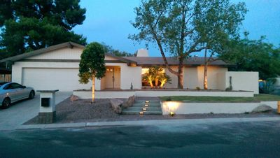 Photo for Location & Luxury- Designer Family home on Mountain Preserve with Hiking Trails!