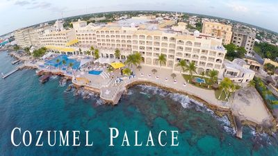 Aerial view of the Cozumel Palace