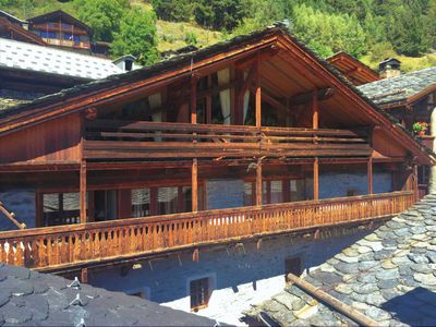 Photo for Beautiful chalet in le Miroir