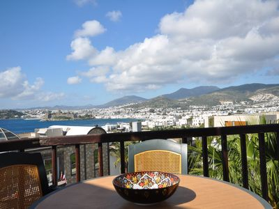 Photo for Apartment with full sea view in Bodrum center