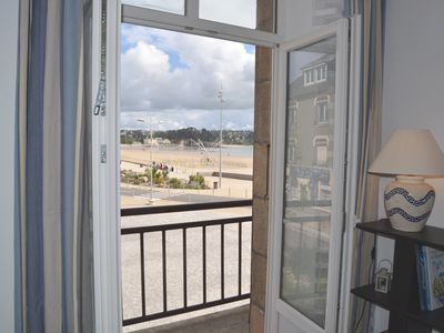 Photo for F2 Sea and beach of Morgat with small balcony