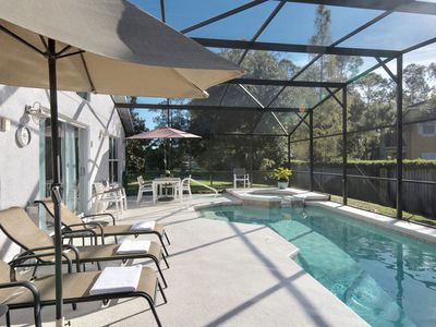 Photo for Dreamy Disney Villa (w/ Pool/ Spa/ Game Room) @ Lake Berkely minutes from Parks!