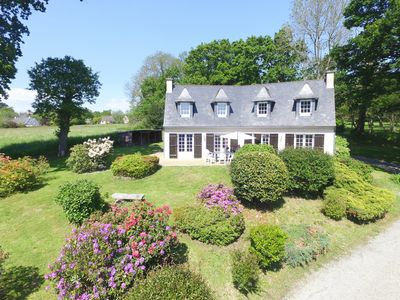 Photo for Big and beautiful villa in South Brittany, near Quimper