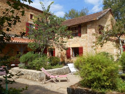 Photo for In Périgord, spacious pleasant restored country house, calm, comfort and nature