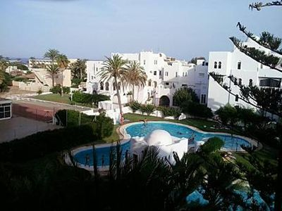 Photo for Beautiful arabic style apartment with a bedroom and second line beach.