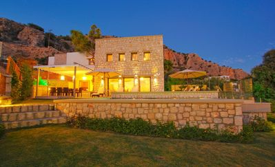 Photo for Executive Rhodes Villa | Villa Luciana | 3 Bedroom with Sea Views | Pefkos