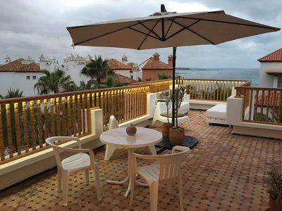 Photo for Magnificent Terrace On The Ocean In Bouznika Bay