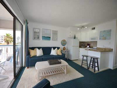 Photo for Coastal Vibe Condo at Casa del Mar with Ocean View