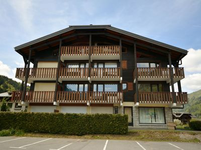 Photo for Studio 4 persons with balcony in southwest nearby ski school in Morzine