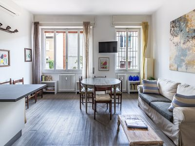 Photo for MILAN HOMEY APARTMENT: 4-bedroom apartment for short-term rentals