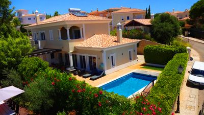 Photo for 4 bedroom Villa, sleeps 8 in Ferrarias with Pool, Air Con and WiFi