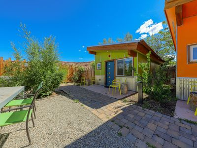 Photo for Modern condo w/ a shared hot tub & gas grill  - near Arches National Park!