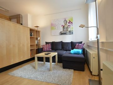 Family friendly apartment in a quiet town center