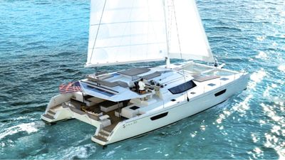 Photo for Dream is iyachtclub's newest virgin island sailing cat