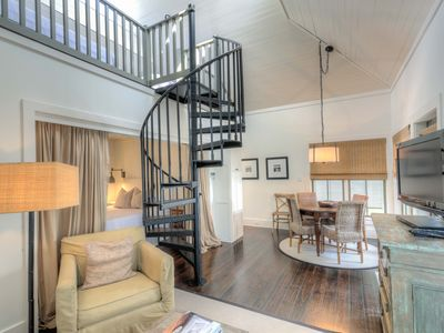 Photo for Hayek Carriage House - Seconds to the Beach in Rosemary Beach
