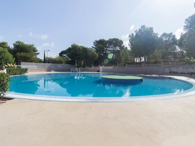 Photo for Nice apartment with 2 bedrooms and pool in Salou.