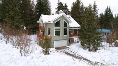 Photo for Great family home with front row views of Mt. Alyeska
