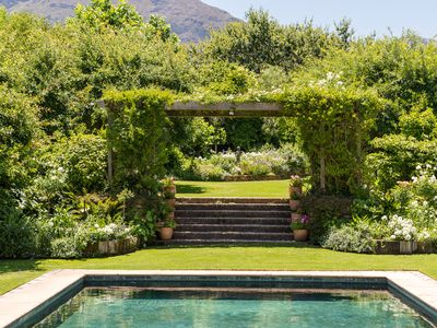 Photo for Exclusive luxurious 6 bedroom Villa in Wine Region Franschhoek South Africa