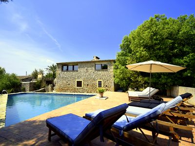 Photo for Finca 'Son Pastor' 10 people; 60th 000 sqm, quiet location, pool 4-7x12x3m