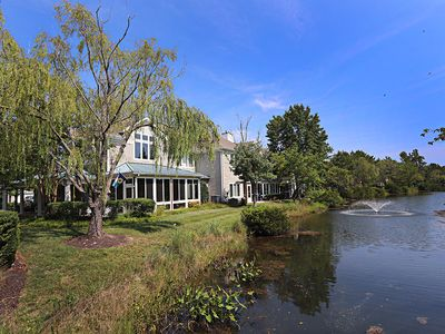 Photo for 5627H: BIG 4BRSea Colony West Lakefront TH! Private beach, pools, tennis ...
