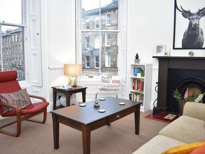 Photo for Traditional 2BR tenement flat next to Summerhall