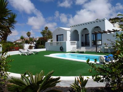 Photo for 2 Bedroom Detatched Villa Shibui Nazaret Lanzarote Private Heated Pool & Garden