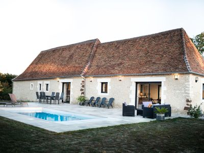 Photo for Stone house with private pool between Périgueux and Montignac-Lascaux