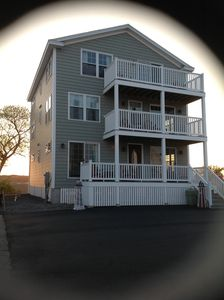 Photo for Brand New 7 Bedroom, 6 1/2 Bath Beachhouse located 100 Yards from Crescent Beach