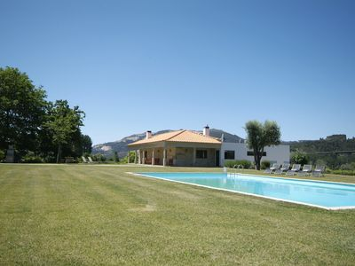 Photo for 6 bedroom Villa, sleeps 14 in Ponte de Lima with Pool and Air Con