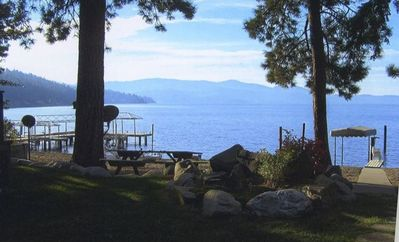 Photo for Beautiful Beach Cottage, just steps to the Beach - Lake CDA-Driftwood Bay