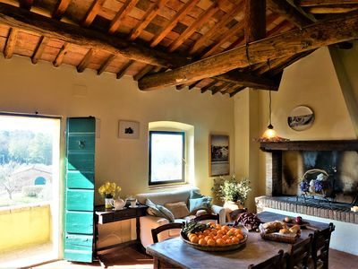 Photo for Lovely Farm Stay  - Terra Rossa - Stunning views - Pool - Authentic Tuscany