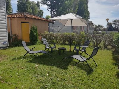 Photo for Mobile home 8 places in camp-site 4 * LA Carabasse