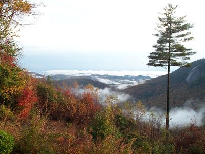 Photo for SAGEE MOUNTAIN, STREAM, WATERFALL, VIEWS OF GA & S CAROLINA, 2 MILES TO TOWN!