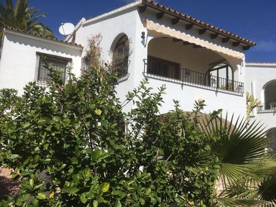 Photo for Villa for 8 people. with panoramic sea view near the beach, shops, market and golf