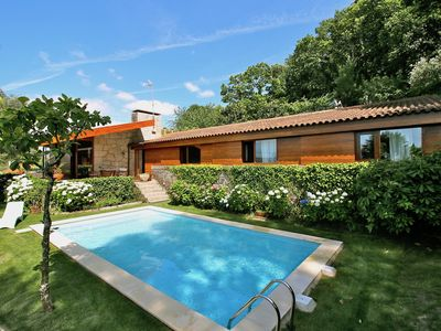Photo for Country house with garden and swimming pool near Caminha