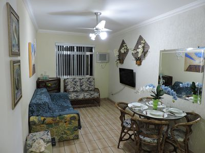 Photo for Beautiful 1 bedroom apartment with air conditioning, Wi-fi and garage.