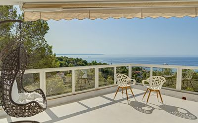 Photo for Villa with absolutely fantastic sea view, exclusive location in Costa d'En Blanes